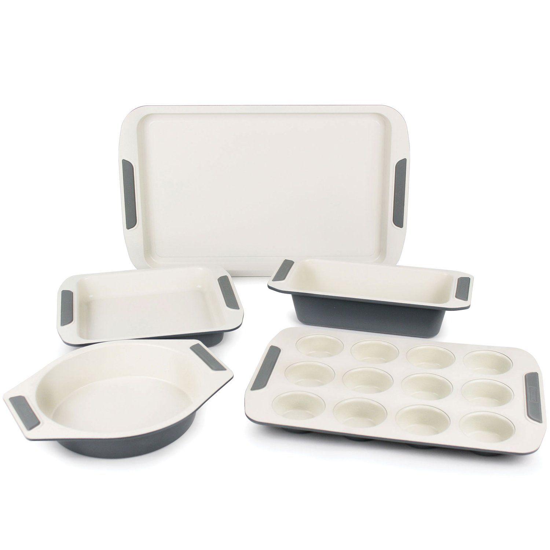 Viking Ceramic Nonstick Bakeware Set 5piece Be Sure To Check