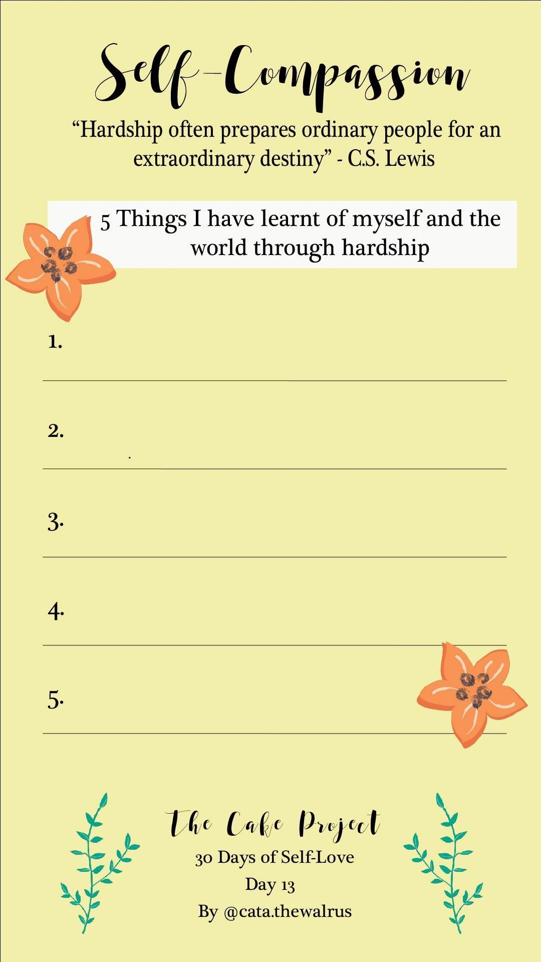 Day 13 Facing Challenge And Hardship