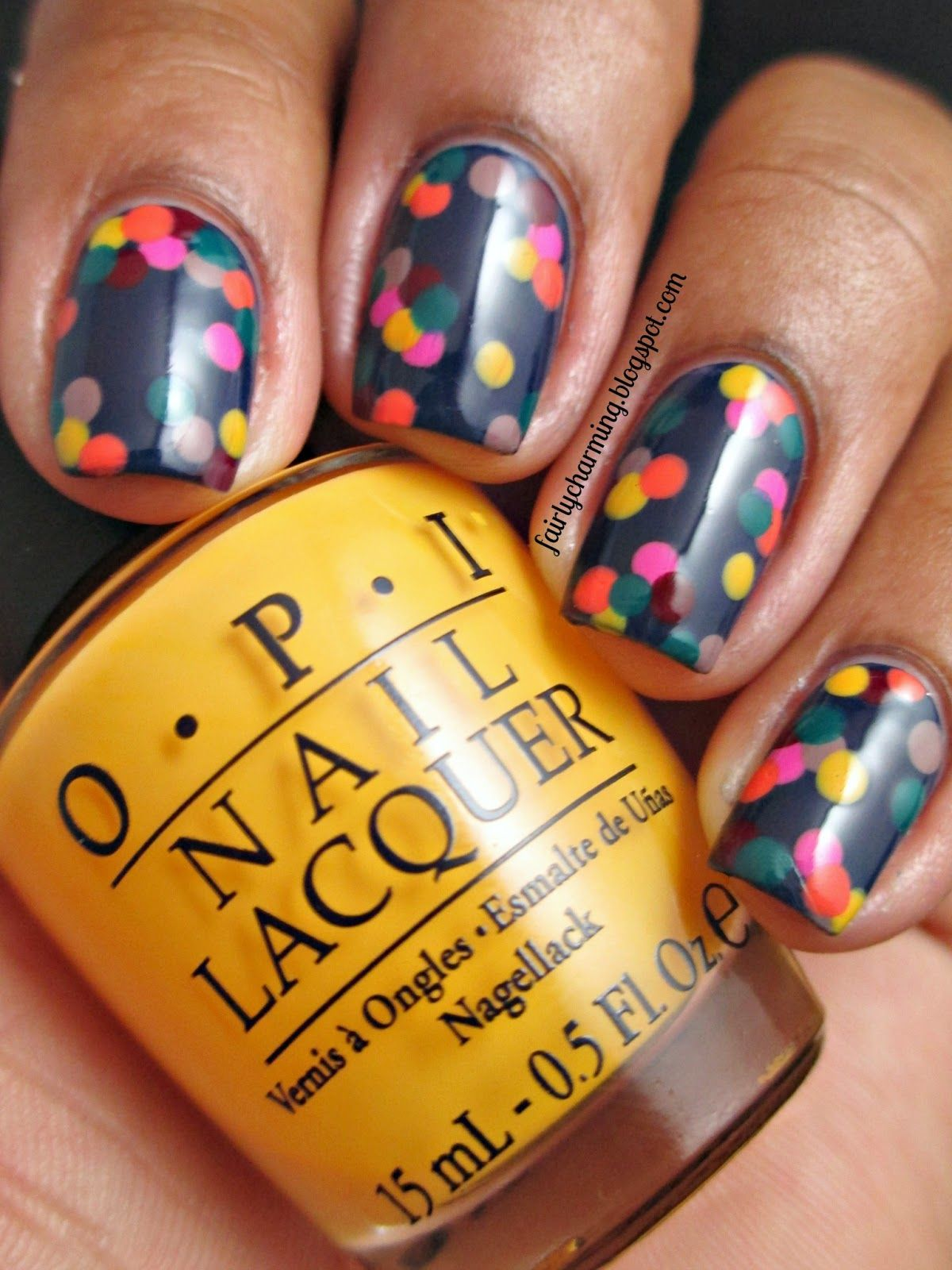 Fairly Charming: Matchy Matchy Dotticure | Re-Pin Nail Exchange ...