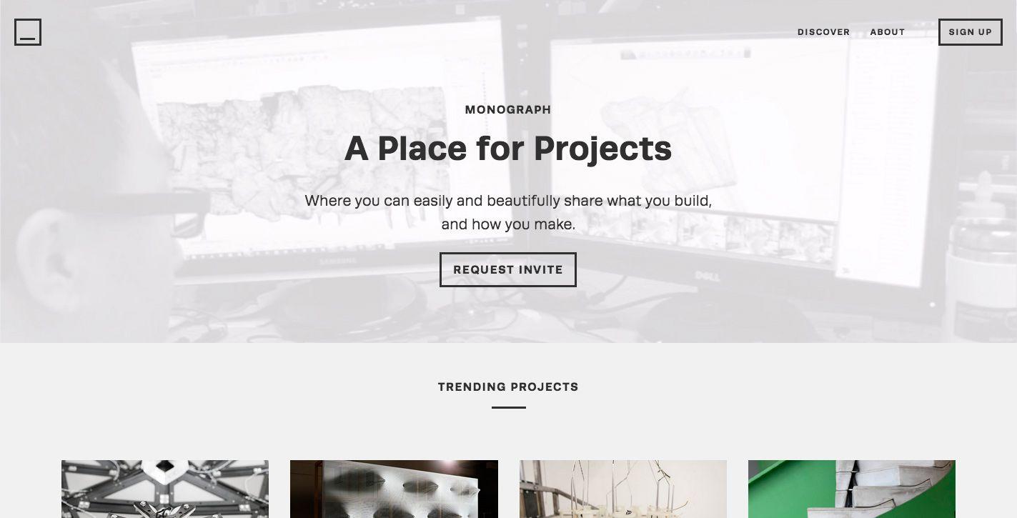 Monograph Awwwards Sotd Web Design Web Design Awards Monograph