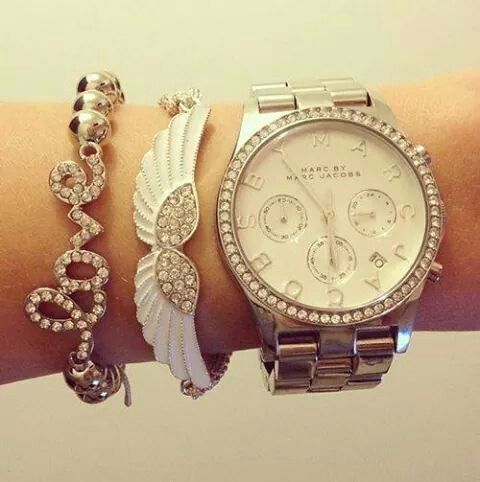 Marc Jacobs whach & bracalet set
