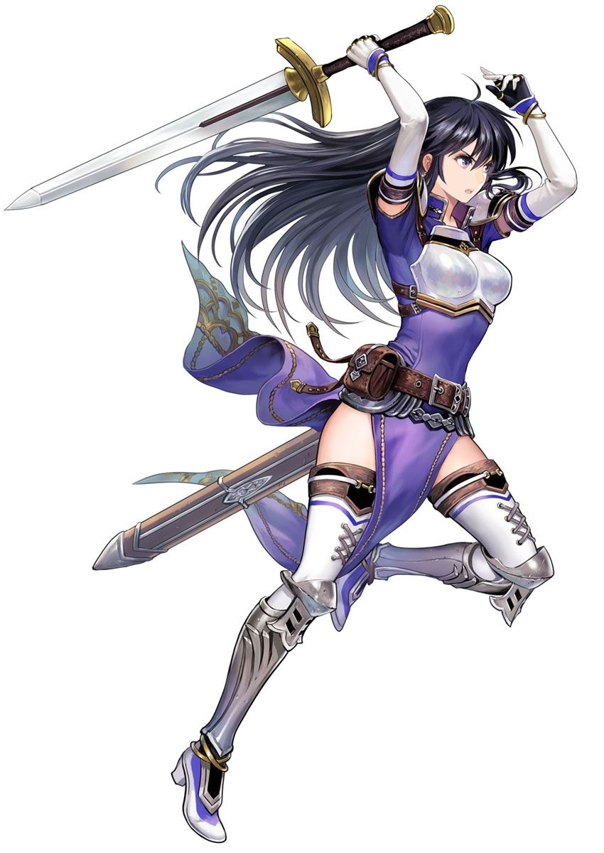 Ayra Battle Stance Fantasy Character Design