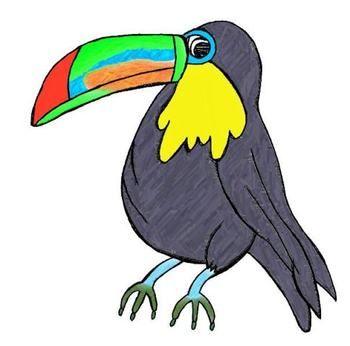 30+ Toucan Rainforest Animals Printable Clipart