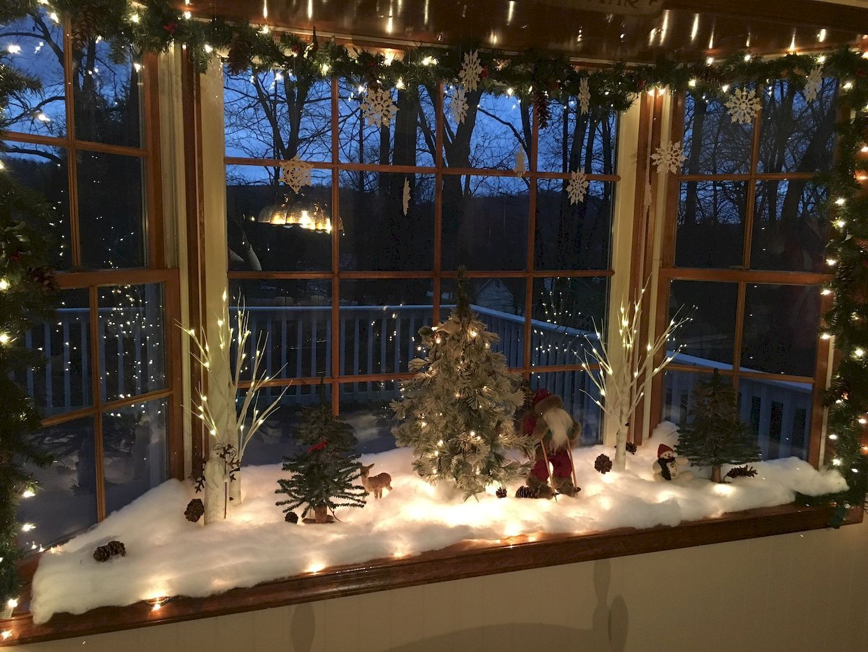 50 Christmas Village Window Display Ideas Home To Z Christmas Window Decorations Christmas Window Display Christmas Window