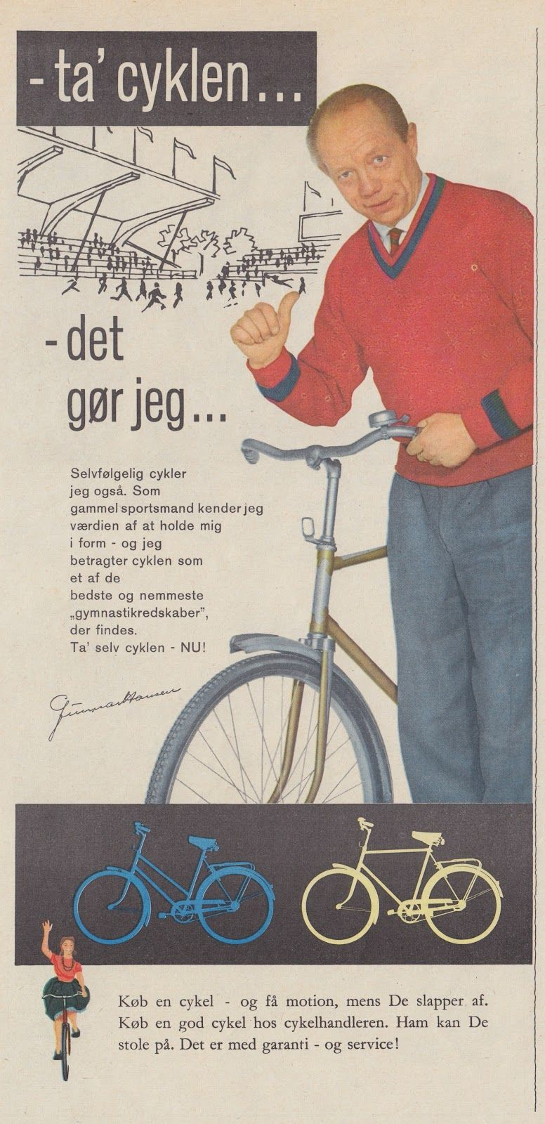 How To Buy A Bike In Copenhagen Retro Advertising I Want To Ride My Bicycle Bike