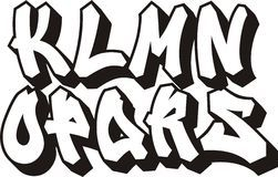 Classic Street Art Graffiti Font Type Alphabet Download From Over 64 Million High Quality Stock Graffiti Font Graffiti Font Alphabet Graffiti Lettering Fonts
