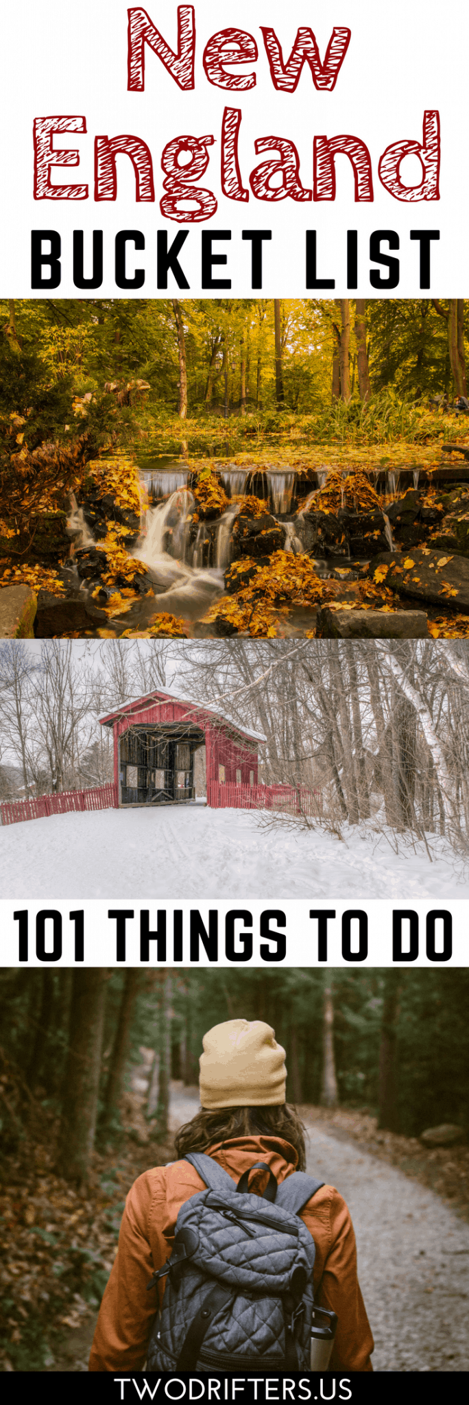 101 Awesome Things to Do in New England: Your New England Bucket List #travelengland