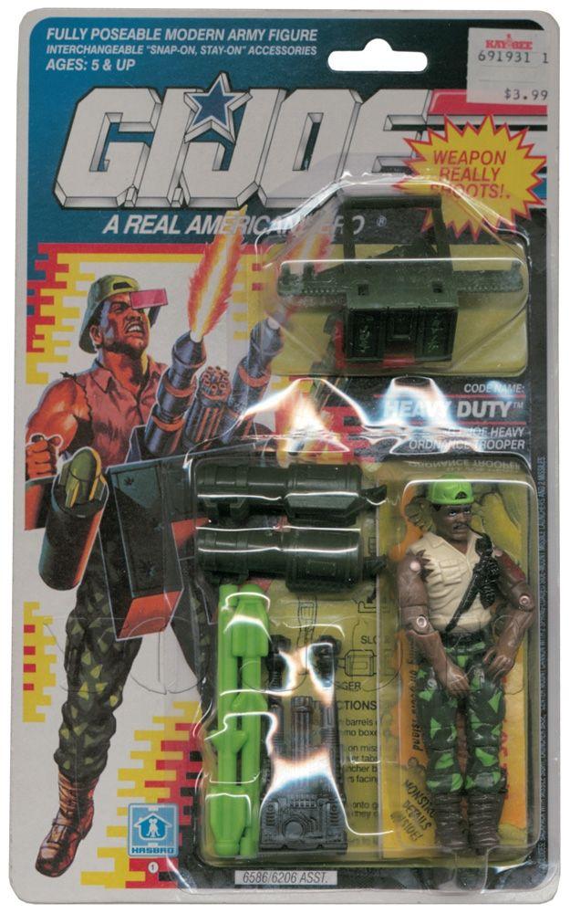 GI Joe arme Flak Viper Gun original 1992 Figure accessoire