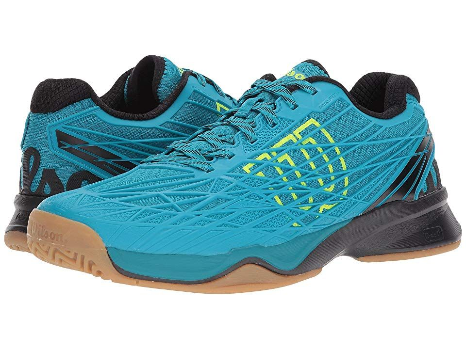 Wilson Kaos Indoor (Enamel Blue/Black/Safety Yellow) Men's