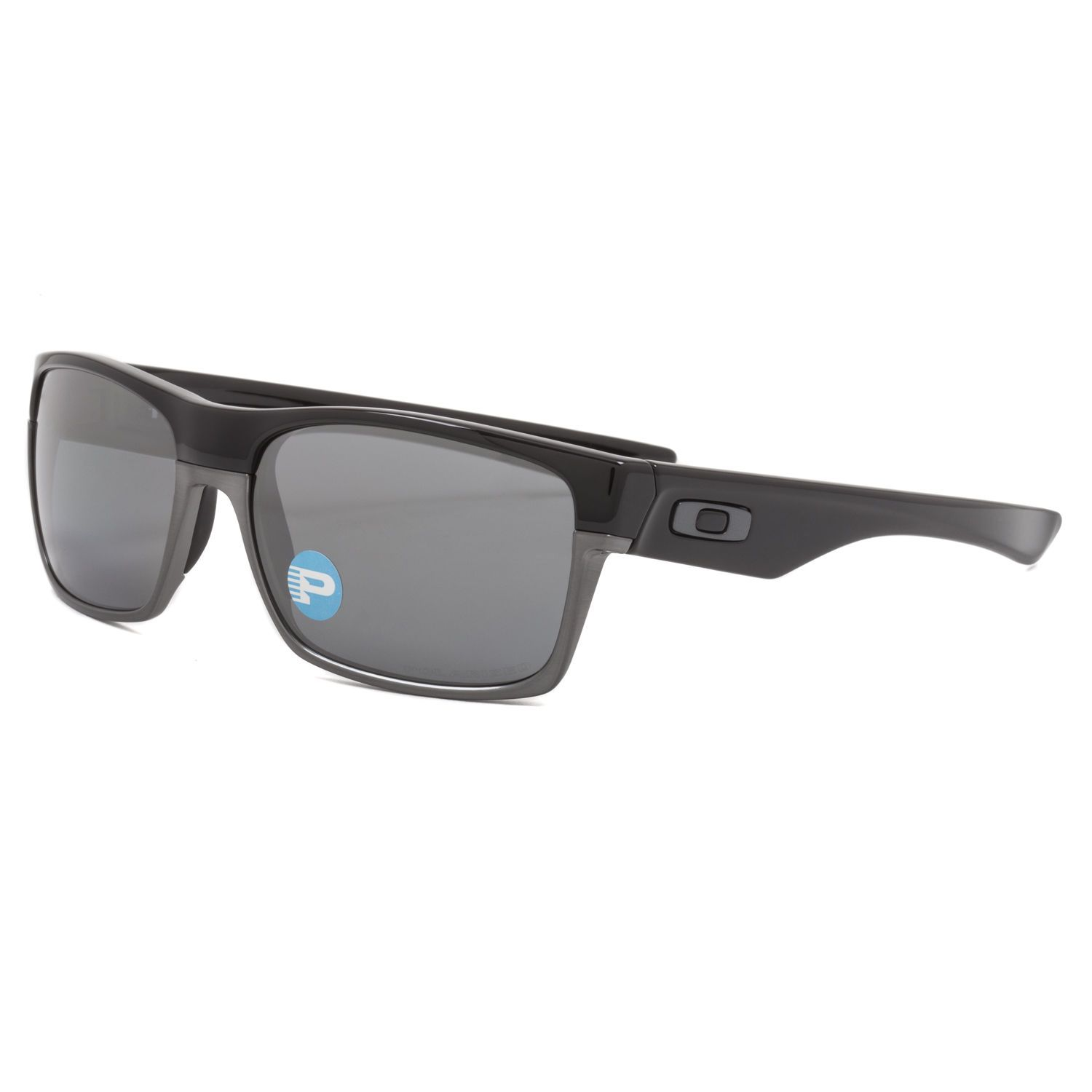 d4aa452b20 ... release date oakley twoface sunglasses oo9189 01 polished black black  iridium polarized d014a 9c200