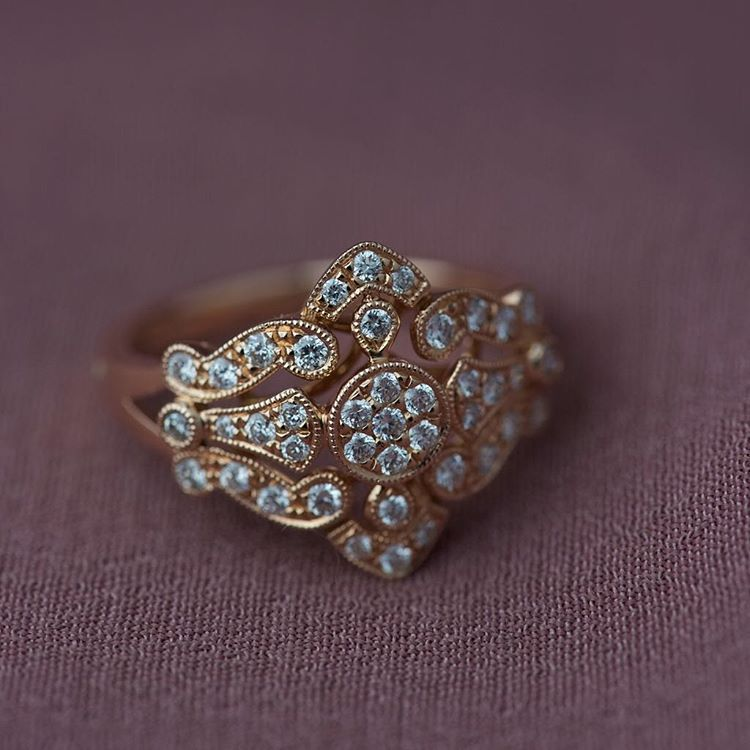 one of our most unique rings and it looks amazing in