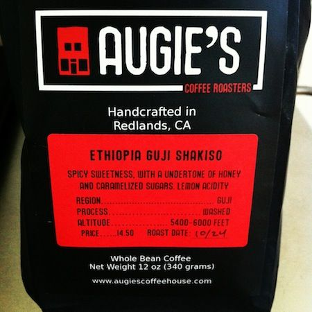 Beans Ethiopia Guji Shakiso Roaster Augie S Coffee Roasters Coffee Packaging Coffee Coffee Roasters