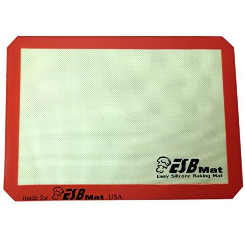 Esbmat High Quality Silicone Baking Mat 11 5 8 Inch X 16 1 2 Inch Best Non Stick Professional Grade And Cer Silicone Baking Mat Baking Mat Me As A Girlfriend