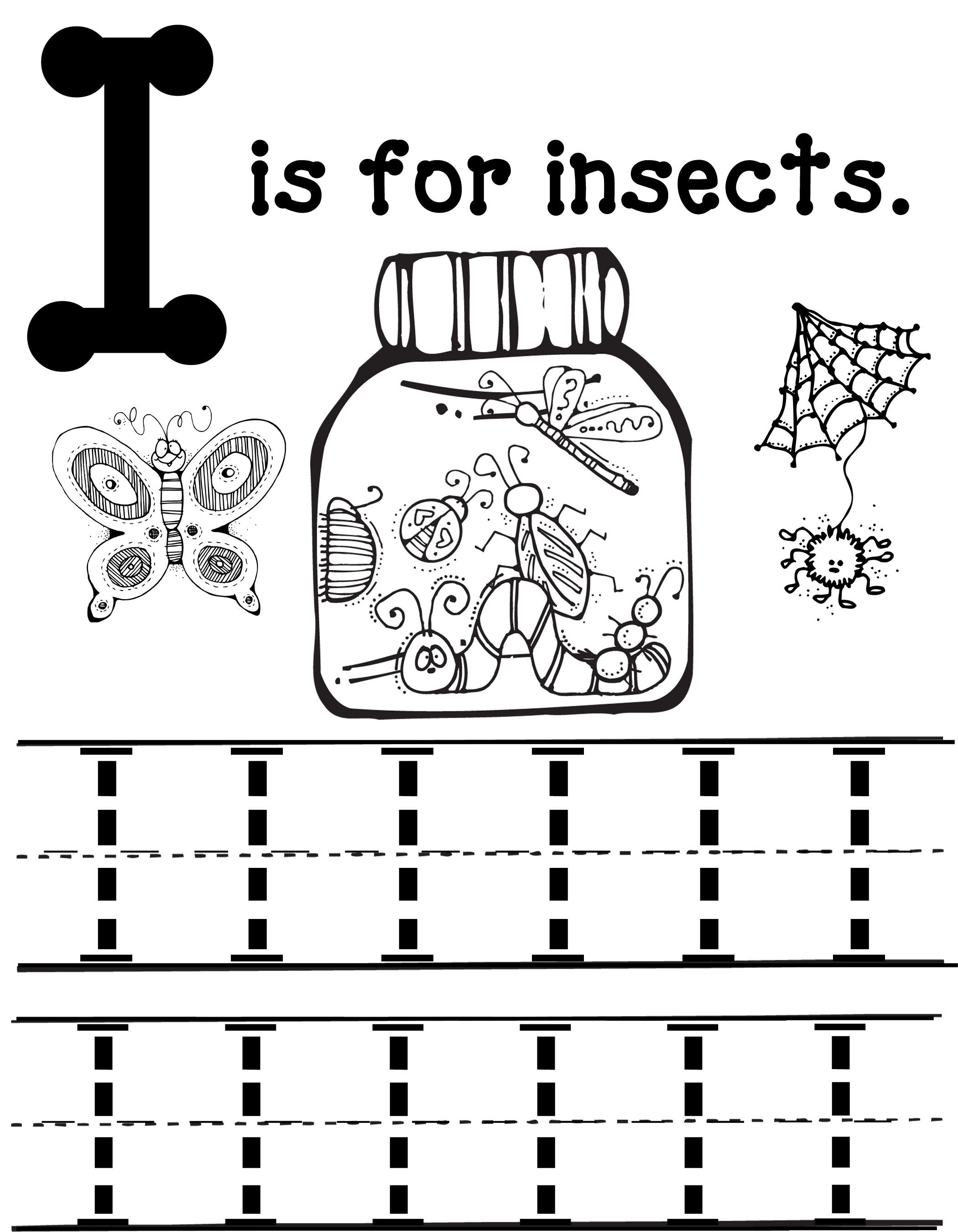 I Is For Insects This Site Has Amazing Preschool Packets