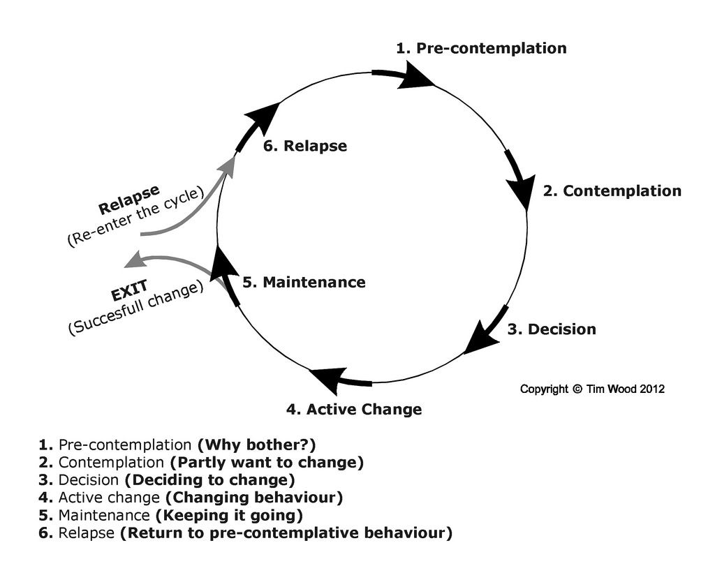 Another Representation Of The Cycle Of Change That Is