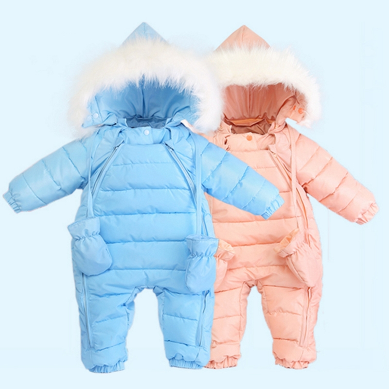 15ed8ae47 57.58 ) Watch more here - infant baby snowsuit 2016 new winter baby ...