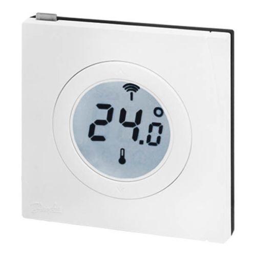danfoss z wave temperature sensor rs z smart home home automation z wave home automation. Black Bedroom Furniture Sets. Home Design Ideas