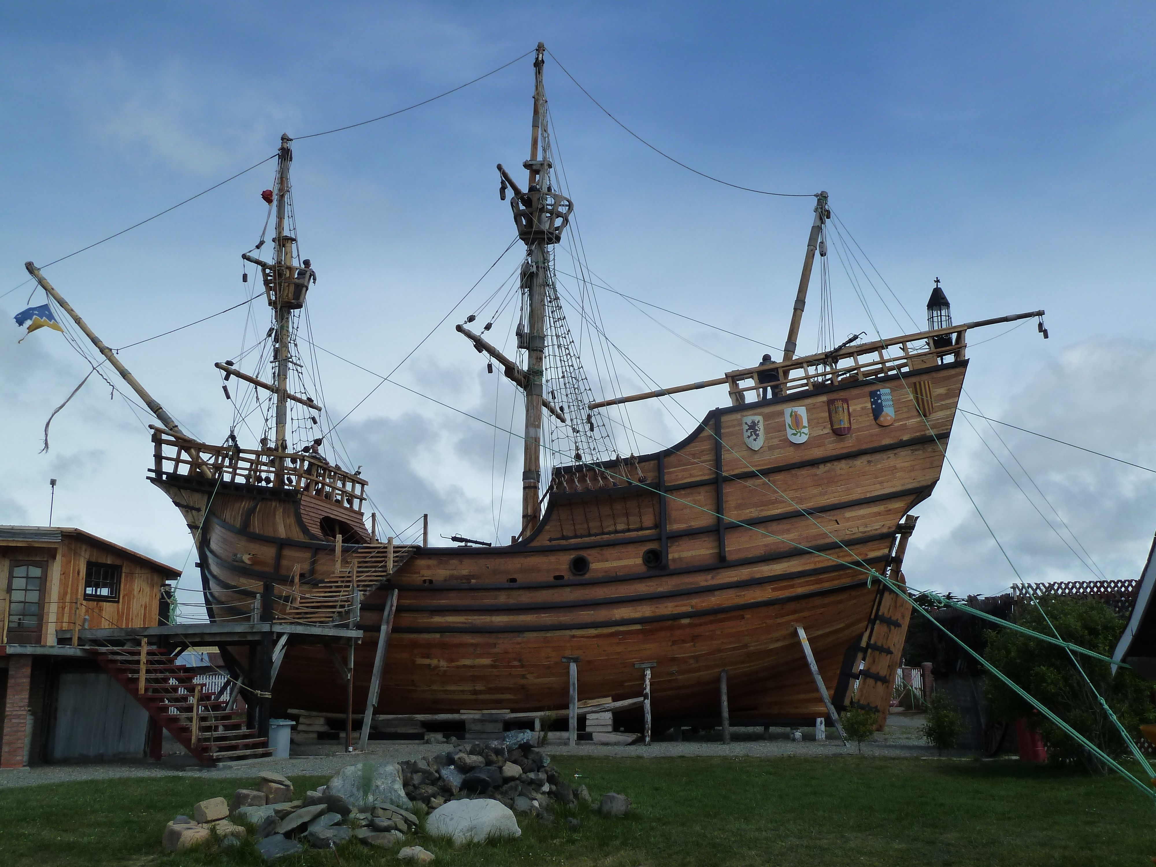 We Will Be Visiting This Nao Victoria Replica Built In Punta  # Muebles Punta Arenas
