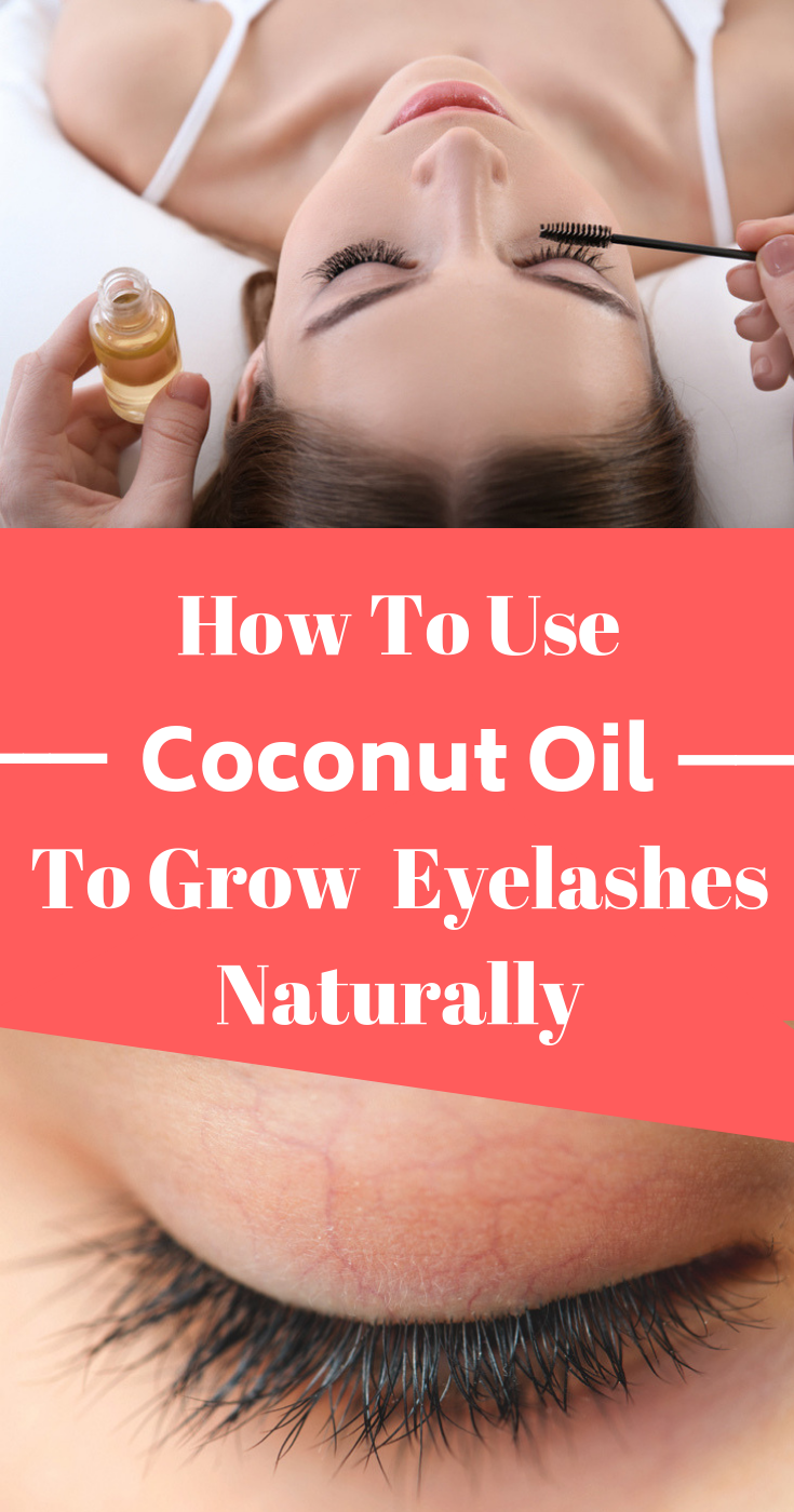 Mix coconut oil with this to grow your eyebrows/eyelashes super fast -   10 fitness coconut oil ideas