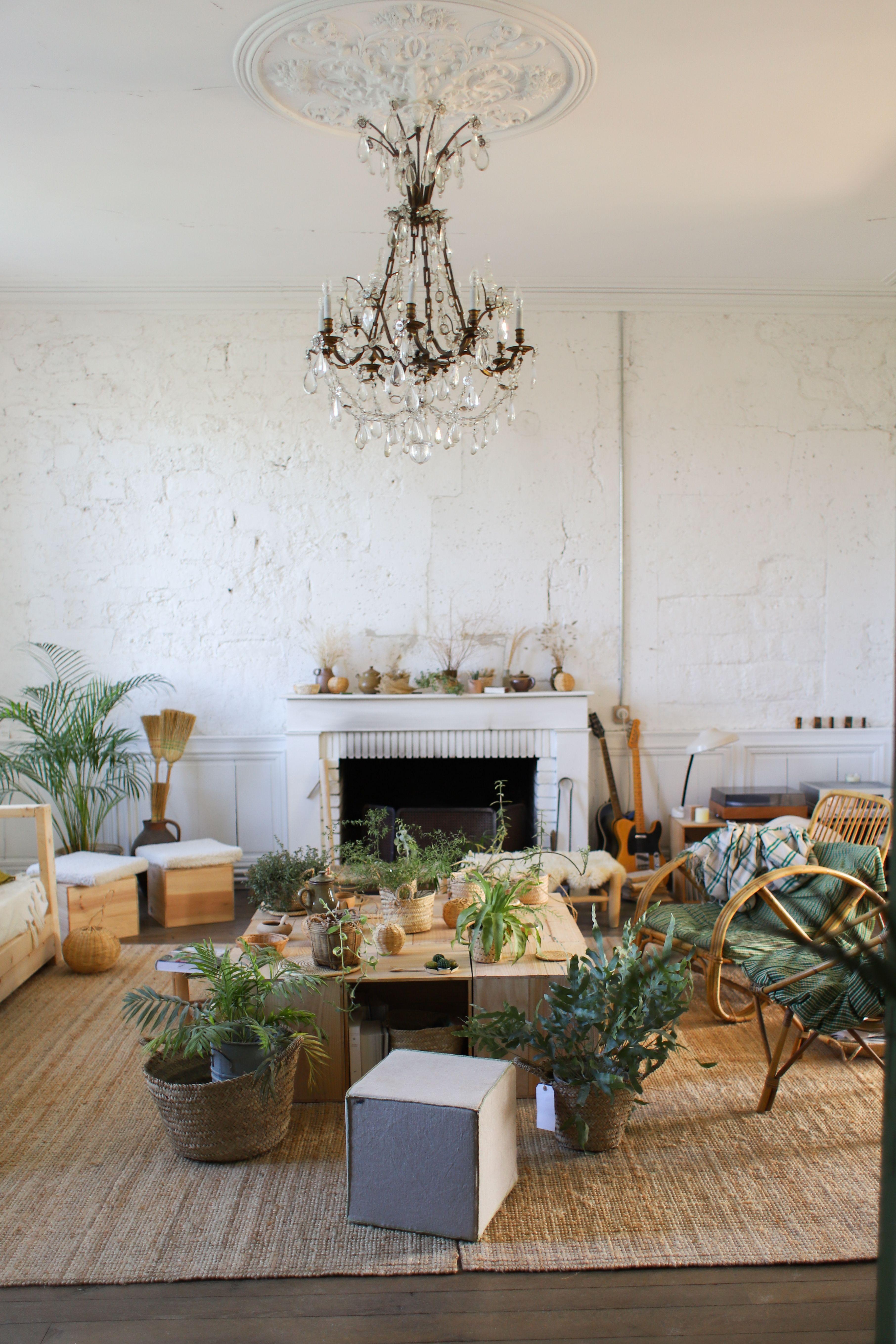 Bienvenue au Château de Dirac en 20  Deco petit salon