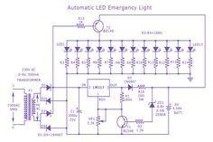 B E Df Bcd B Da C Ec on Emergency Use Mobile Battery Led Light Circuit Diagram