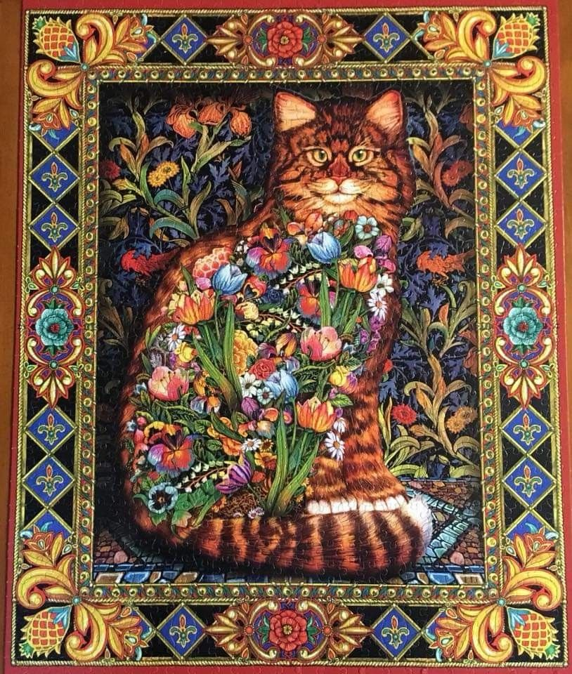 Pin by Beth Stockwell on Cats, etc in 2020 Cat jigsaw