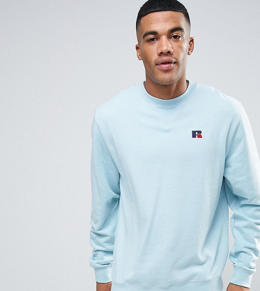 Get this Russell Athletic's hooded sweatshirt now! Click for more details.  Worldwide shipping. Russell Athletic Sweatshirt With Embroidered Logo -  Blue: ...