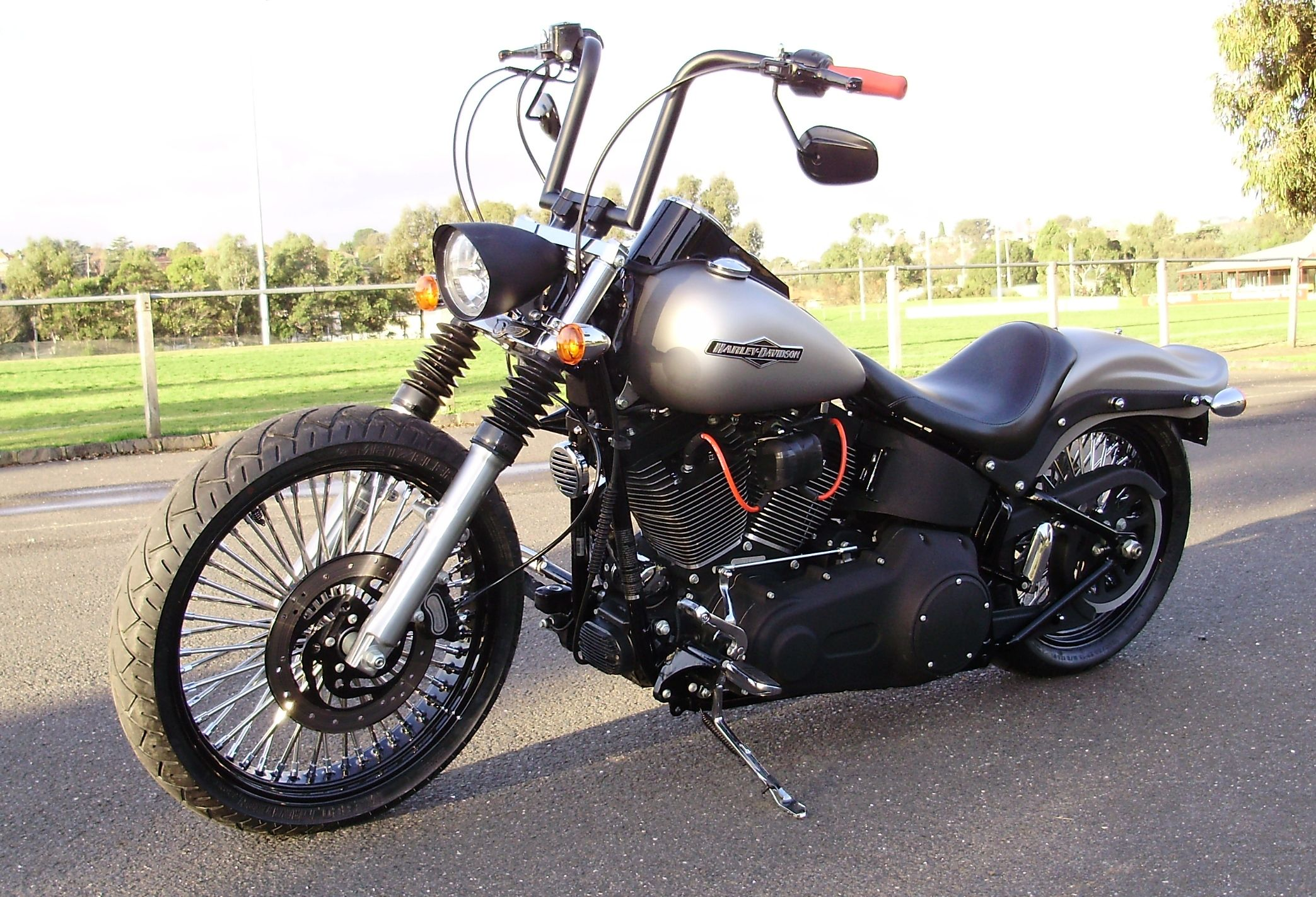 harley night train project cruzin customs harley davidson parts and accessories harley. Black Bedroom Furniture Sets. Home Design Ideas