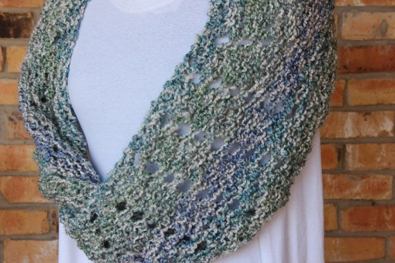 Knit Wrap Pattern Mobius Knit Cowl Patterns Knitting Pattern For