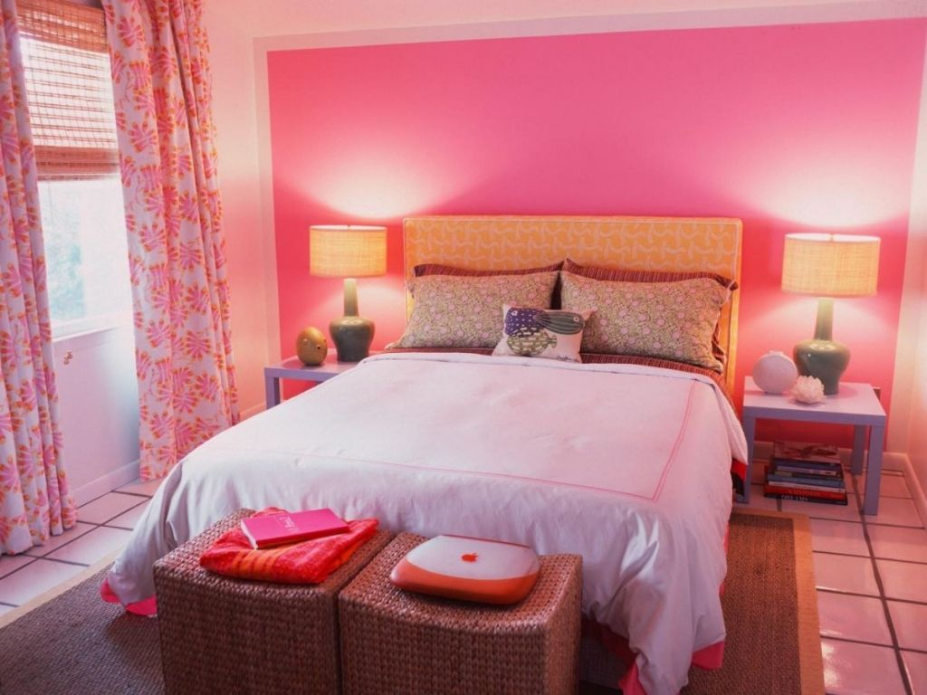 pink paint colors for bedrooms | mattress