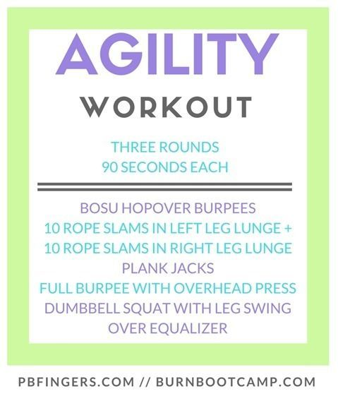 Things I'm Loving Friday #185 #agilityworkouts AGILITY Workout: Burn Boot Camp Agility Workout #agilityworkouts