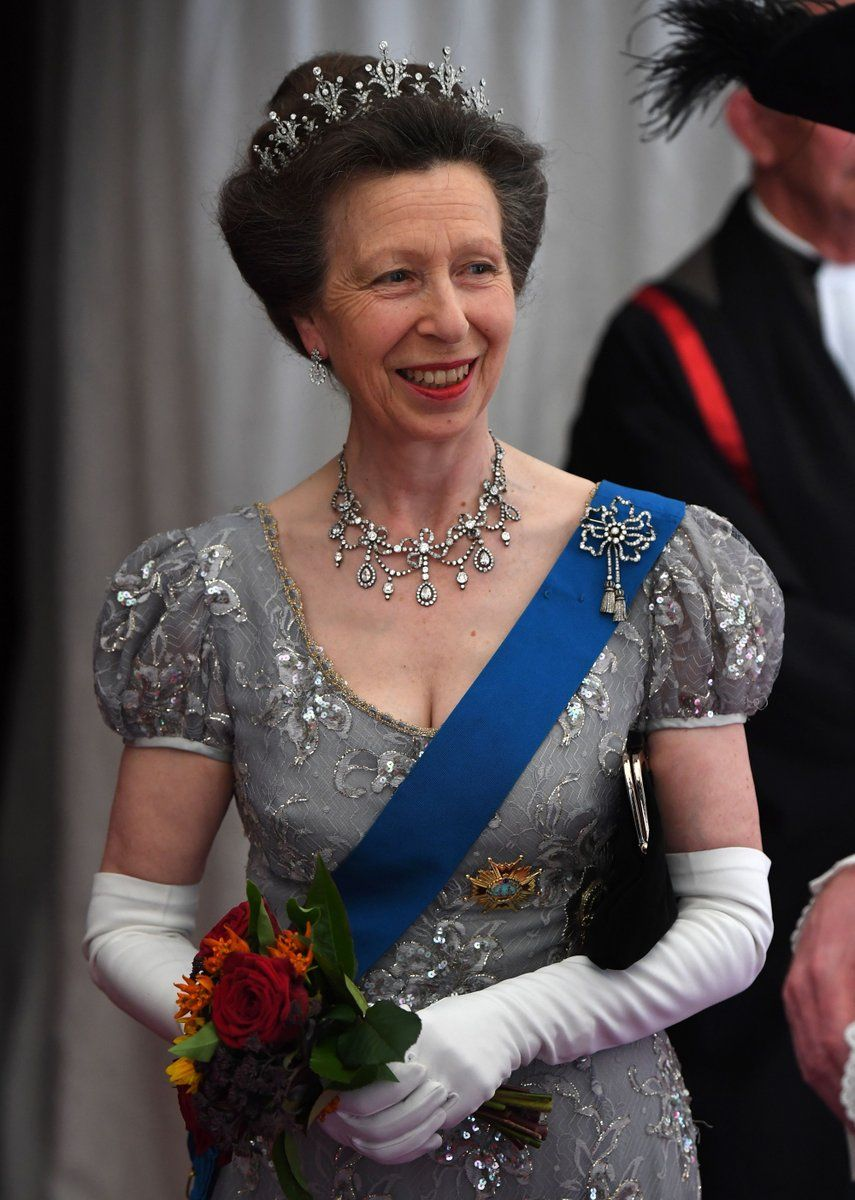 The Princess Royal before the Guildhall Banquet for the