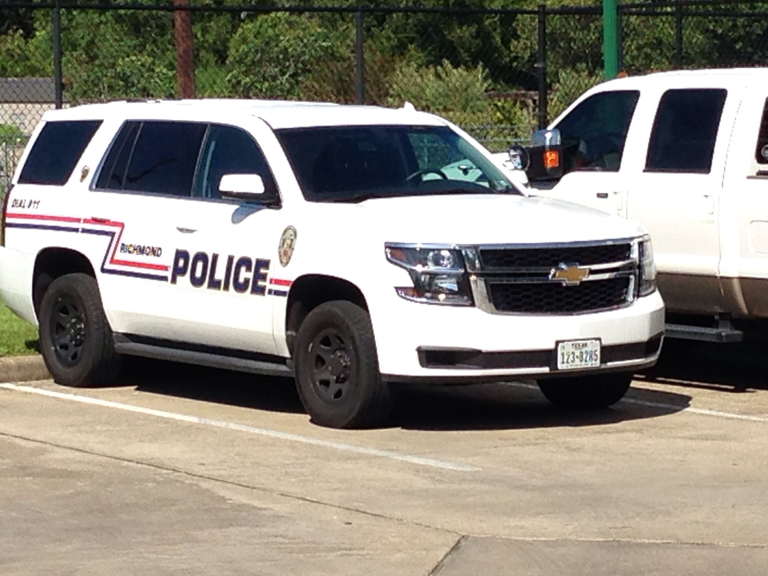 Richmond Police Chevy Tahoe Texas With Images Police Police