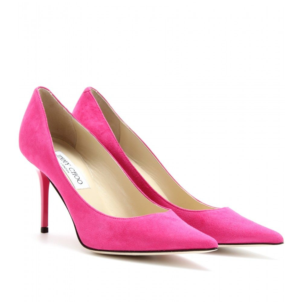 2020b7d9d Jimmy Choo - Pumps Agnes in suede | MyTheresa | Clothes, shoes, etc ...