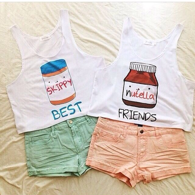 Cute bff outfits
