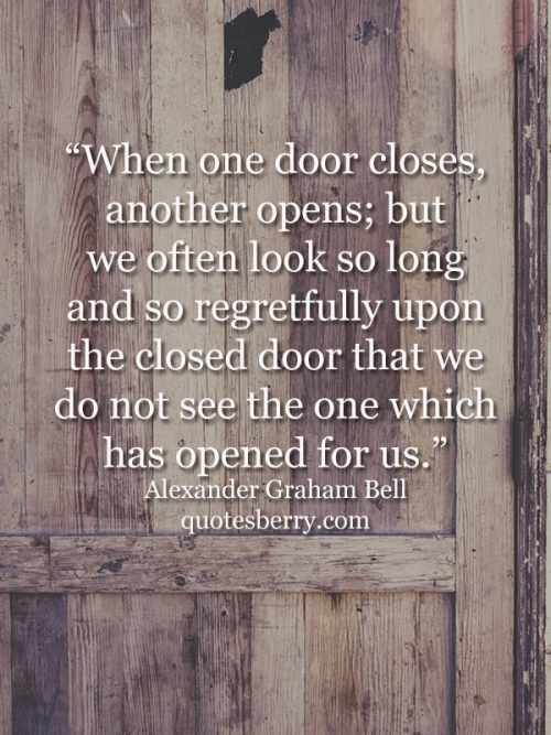 Quote When One Door Closes Another Opens: Best 25+ Alexander Graham Bell Quotes Ideas On Pinterest
