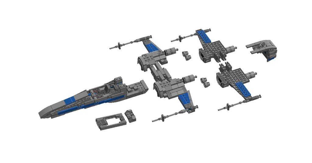 T70 Xwing Instructions Lego Creations Lego And Lego Instructions