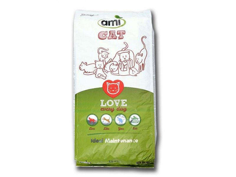 Hrana Za Mačke Ami Cat 15kg Ami Vegan Cat Food Cat Food