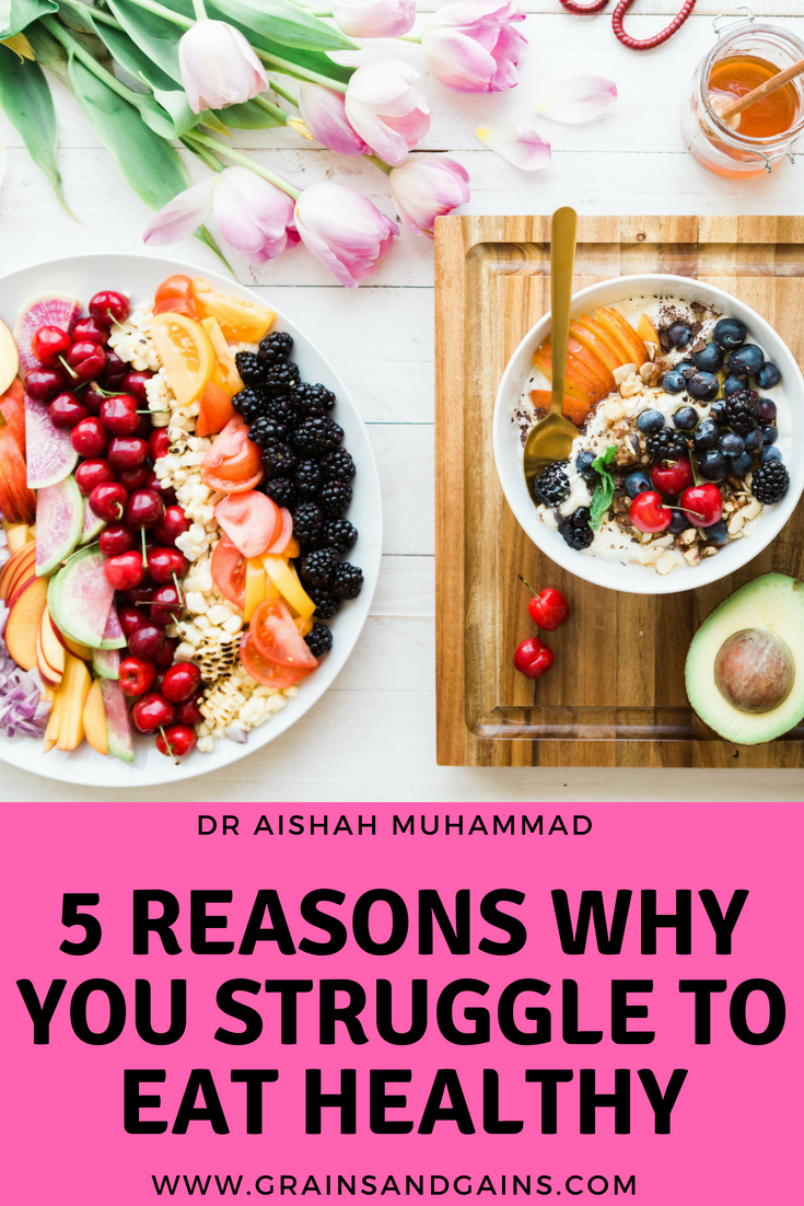 5 Reasons Why You Struggle To Eat Healthy images