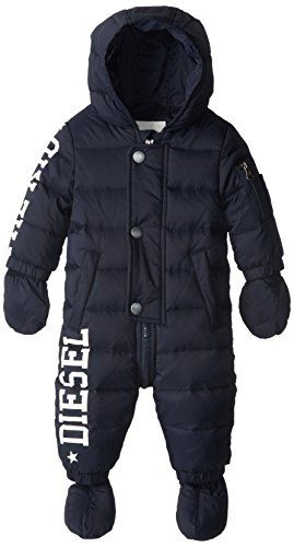 9e714c12646f Diesel Baby-Boys Infant Jusib Shiny Down Snowsuit