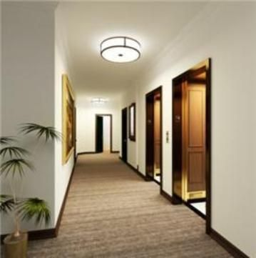 Apartment building hallway google search hallway for Apartment hallway design