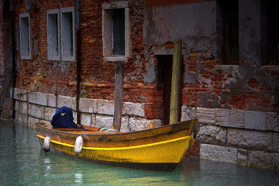 407 Barca Nel Canale Venezia Veneto Foto Di De Rosa Ettore