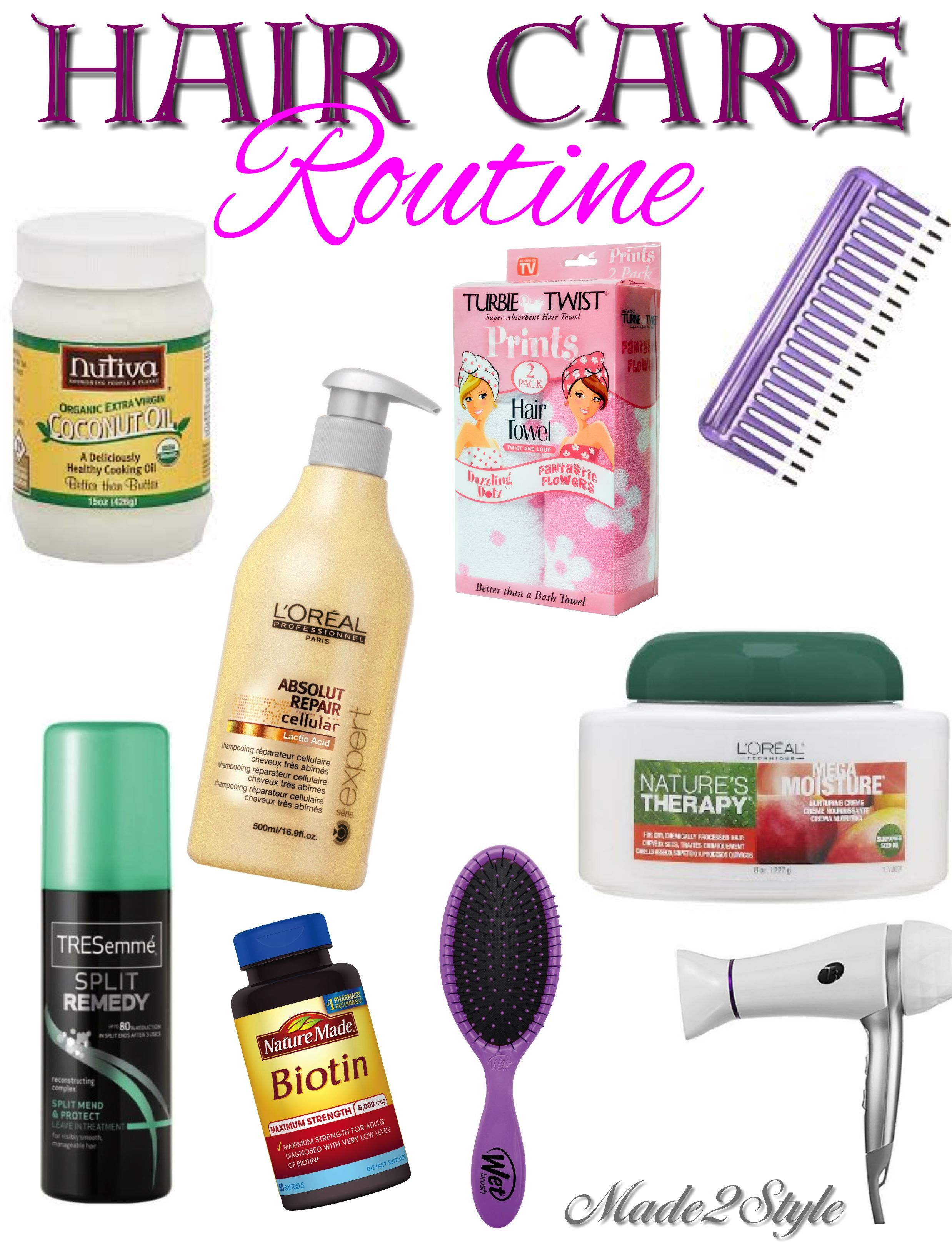 Hair Care Routine With Images Hair Care Long Hair Care