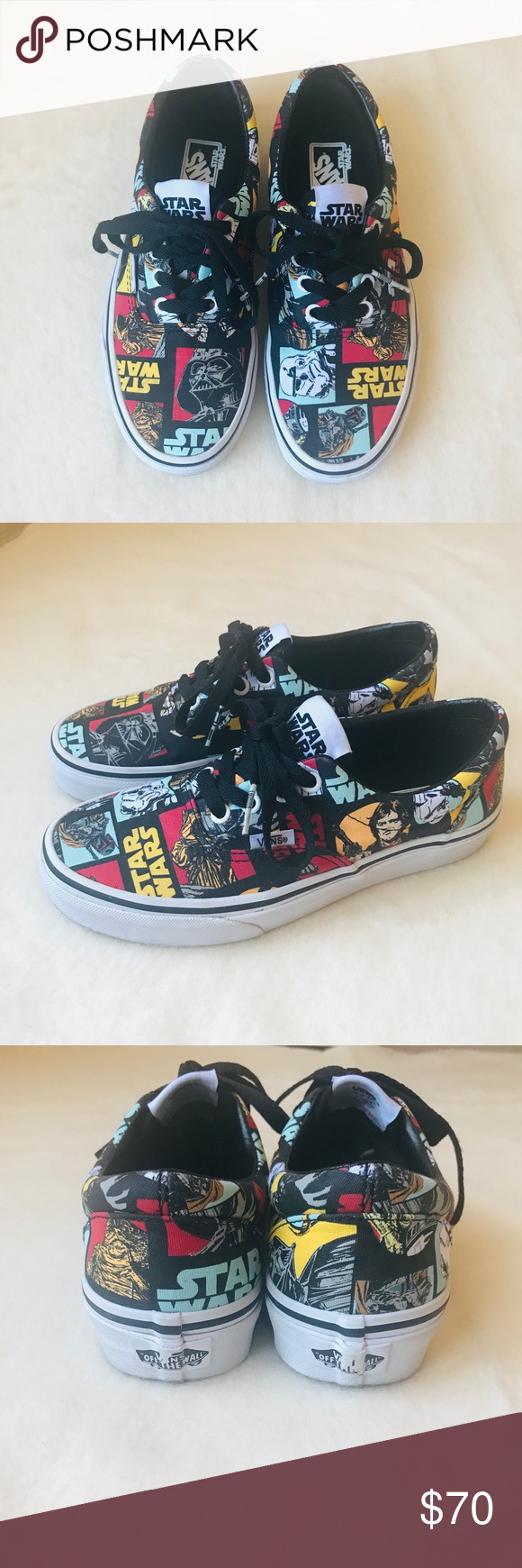 4dae2c8697bcc8 ✨🖤Rare Star Wars VANS Era Classic Repeat🖤✨ Authentic Limited Edition VANS  Star