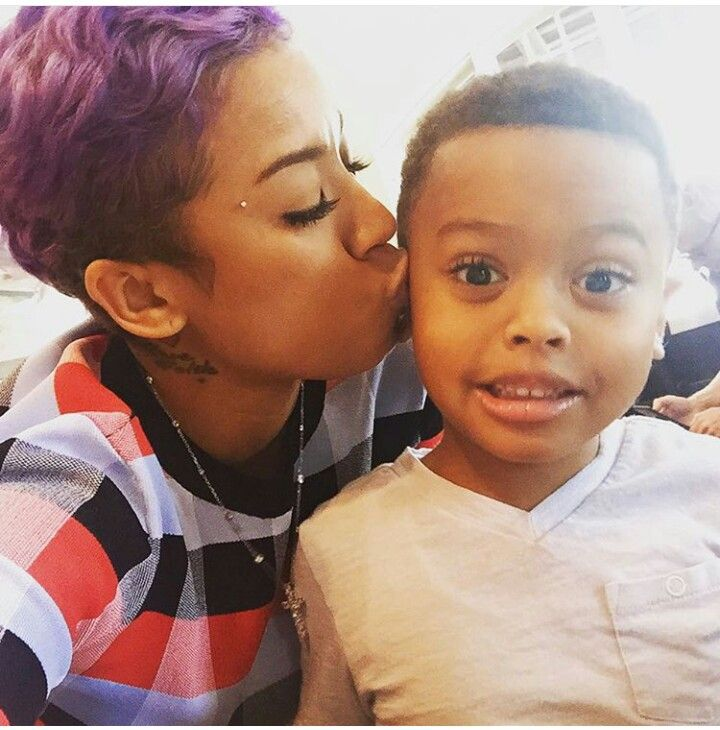 Keyshia Cole And Son It S A Family Affair Short Hair