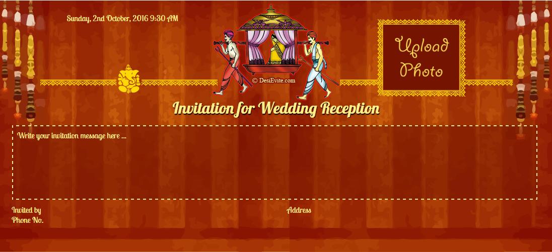Indian Wedding Cards Maker Indian Wedding Invitation Cards