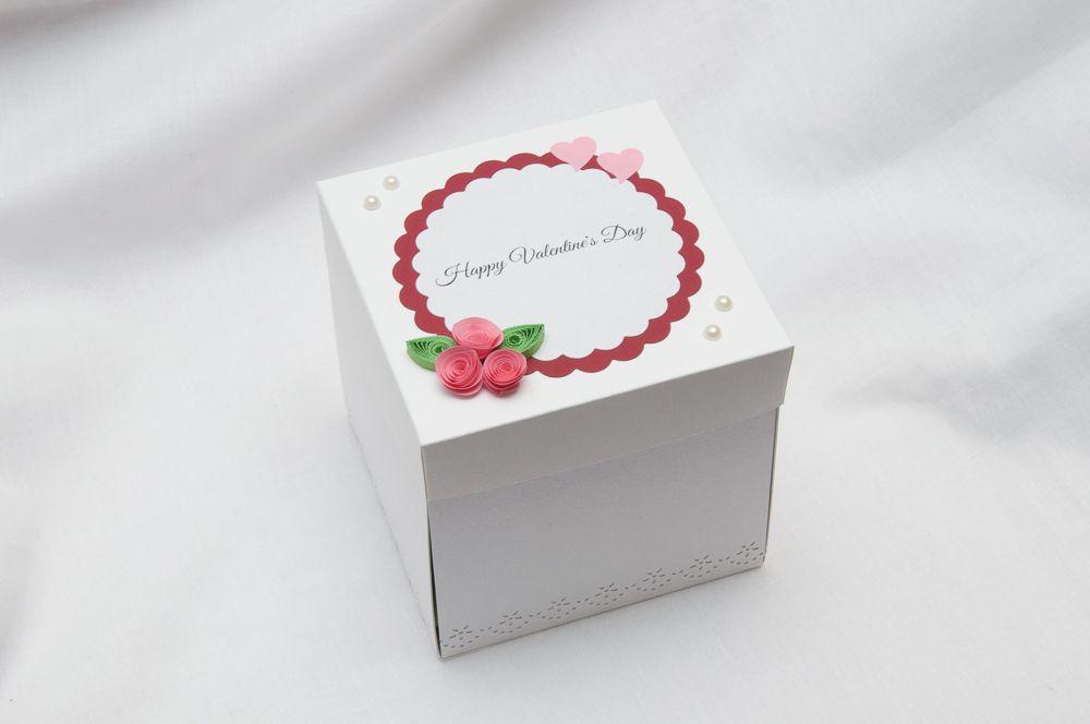 valentine's day exploding box  greeting cards handmade