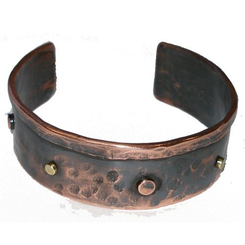 Copper Bracelet from Chile - Studded. $54.99 #Fairtrade #Jewelry #Handmade
