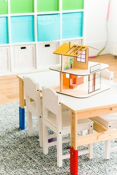 Gorgeous modern dollhouse