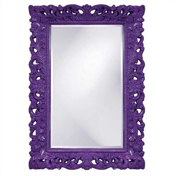Awesome Howard Elliott Barcelona 32 X 46 Royal Purple Wall Mirror Nice Look
